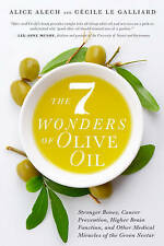 Alech, Alice-7 Wonders Of Olive Oil  BOOK NEW
