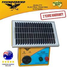 New Thunderbird Solar Electric Fence Energiser. S28B 2.5 km Self Contained 4270