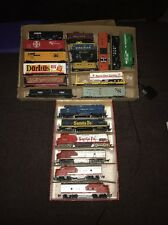 21 LOT HO SCALE Doritos SANTA FE TRAIN ENGINE LOCOMOTIVE CABOOSE Me Pacific