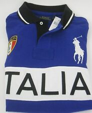 "* NEU + OVP: Polo by Ralph Lauren Big Pony ""Italia"" Rugby Polo-Shirt, Gr. XXL *"