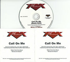 FM Call On Me 2015 UK 1-trk promo test CD