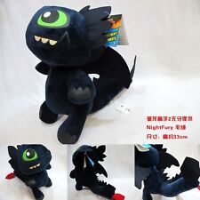 DRAGON TRAINER PELUCHE PLUSH 35CM HOW TO TRAIN YOUR DRAGON 2 SDENTATO TOOTHLESS
