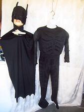 Rubie's Batman 2 Pc.The Dark Night Rises Jumpsuit,Cape w/Mask Boy/Man Sz M(HH-BM