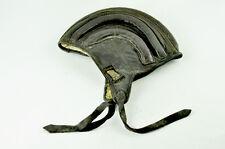 Aviator PARATROOPER / PILOT leather helmet USSR Motorcycle VTG old