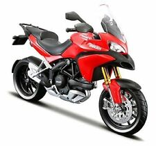 MAISTO 1:12 DUCATI MULTISTRADA 1200S RED MOTORCYCLE BIKE DIECAST MODEL TOY BOXED
