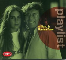 AL BANO & ROMINA POWER - PLAYLIST - BEST  CD NUOVO SIGILLATO