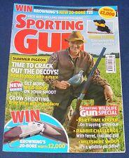 SPORTING GUN MAGAZINE AUGUST 2014 - BERETTA SV10 PREVAIL 1 PRO