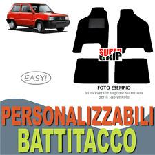 PER FIAT PANDA (80-03) TAPPETINI AUTO SU MISURA IN MOQUETTE CON BATTITACCO EASY