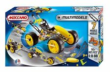 Meccano 834550 7-Multimodel-Set,Buggy,190+ Teile,einfacher Anspruch,ab 8Jahre