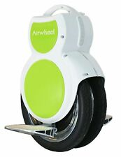 NEW Airwheel Q6 Electric Unicycle Scooter - Twin Wheel - Green