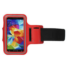 Sports Running Jogging Gym Armband Waterproof Cover for Samsung S3, S4 Red