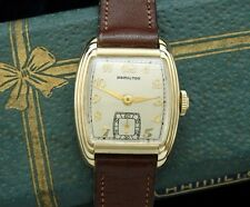 Beautiful Men's 1936 Hamilton Dress Watch with Presentation Box - SERVICED