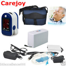 Carejoy Portable Oxygen Concentrator Generator Home/Travel+Pulse Oximeter CE