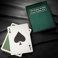 The Expert at the Card Table - Green Playing Cards Poker Spielkarten