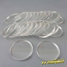 TTCombat - Round Clear Bases (25mm)