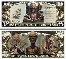 Tales From the Crypt Million Dollar Novelty Collector Bill Note