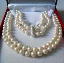 2 Row7-8MM AKOYA SALTWATER PEARL NECKLACE  730
