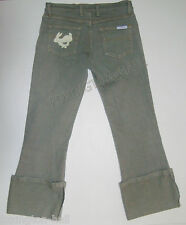 "BEAUTIFUL SASS&BIDE BIG CUFFED DENIM JEANS AUS 9,US 3 ""MR.SAGGATINI"""