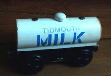 MILK TANKER TRAIN Tidmouth wood Thomas, Fits ALL WOODEN TRACK