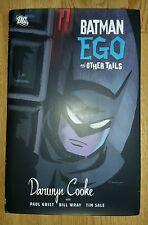 Batman: EGO and Other Tails by Darwyn Cooke, Paul Grist Hardback 2007 HC tales