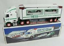 1997* HESS*  TOY* TRUCK*  AND*  RACERS*  MINT* IN* BOX*