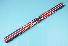 Deluxe Quality 3/4 Union Jack Flag Design Snooker Pool Cue Case