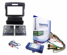 Radio Replacement Interface & Dash Mounting Kit Single/Double-DIN for Honda CRV