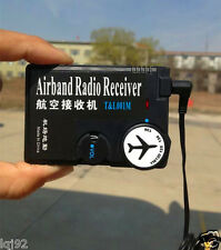 Airband radio118MHz-136MHz receiver aviation band receiver for Airport Ground