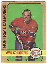 1972-73 OPC HOCKEY #29 YVAN COURNOYER - POOR