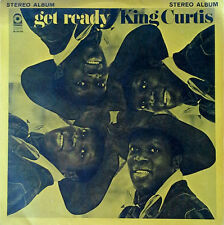 "KING CURTIS - GET READY - ATLANTIC - 7"" JUKEBOX EP + (10) STRIPS - 33 1/3 RPM"