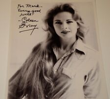 COLEEN GRAY /  LOVELY  8 X 10  B&W  AUTOGRAPHED  PHOTO