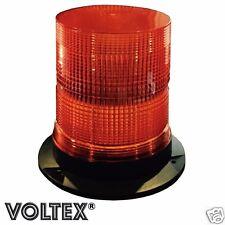 """VOLTEX® 7"""" STROBE BEACON 16 WATT LED AMBER PILOT ESCORT CAR TOW TRUCK LIGHTBAR"""