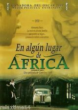 Nowhere In Africa  -   En Algún Lugar De África New Dvd