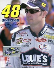 JIMMY JOHNSON ~ 8x10 Color Photo Picture ~ Lowe's Nascar Racing #48