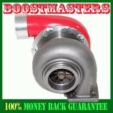 """For GT45 Turbo/Turbocharger 600+HP Boost Universal T4/T66 3.5""""V-Band1.05 RED"""