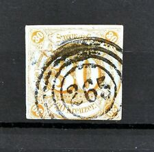 Thurn & Taxis Southern District 30 Kr Orange SCARCE Postally Used Scott's #52