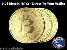 0.01 Bitcoin (BTC) - Mined Bitcoin - Direct To Your Wallet - By CryptoCoinShop