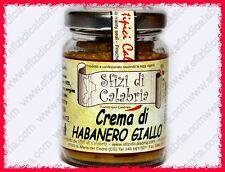 Crema di Habanero Giallo in Olio Peperoncino Piccantissimo Estremo 90g