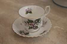 "Antique Royal Albert ""Mayflower"" Teacup and Saucer PERECT Condition - BEAUTIFUL"