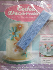 Deagostini Cake Decorating Magazine ISSUE 108 WITH 2 RIBBON EMBOSSERS