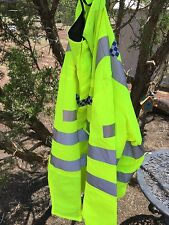 Genuine Police Fire Rescue Surplus Hunting Safety Jacket Very high visibility