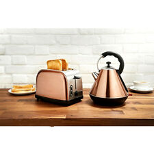 Copper Kettle And Toaster Set - Rare Colour - Kitchen Quarter- STYLISH & SLEEK