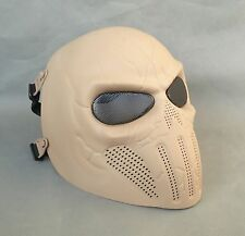 NEW Airsoft Paintball CS ABS Full Face Protection Skull Mask Simple Practical