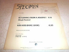 "SPECIMEN Returning From A Journey 12"" Kiss Kiss Bang Bang Sire GOTH PUNK 1983"
