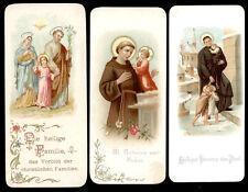 lotto santini-holy cards lot-lot images pieuses-konvolut heiligenbildichen 2159