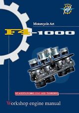 MV Agusta Service Engine Manual  2005 F4 1000 TAMBURINI