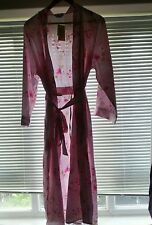 Shapely Figures Pink Floral Dressing Gown, Nightie & Hangers Matching Gift Set