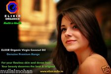 Elixir Virgin Organic Coconut Oil 500 ml. Special offer 30% discount