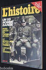 """Magazine """" L'Hstoire n°82 """" (Edit-Octobre-1982) (115 pages)"""