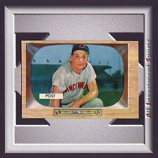 1955 Bowman WALLY POST #32 EXMT *awesome card for your set* M40C